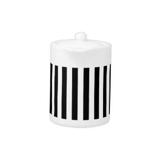 Thin Stripes - Black and White