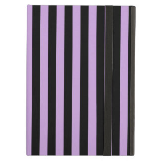 Thin Stripes - Black and Wisteria Case For iPad Air