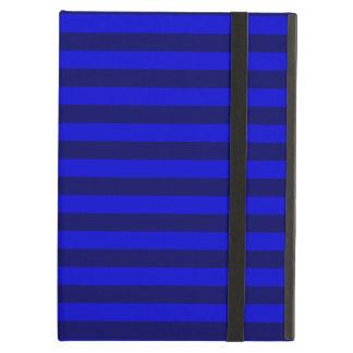 Thin Stripes - Blue and Dark Blue Case For iPad Air