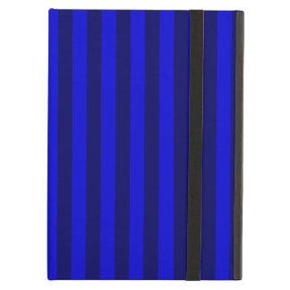 Thin Stripes - Blue and Dark Blue Cover For iPad Air