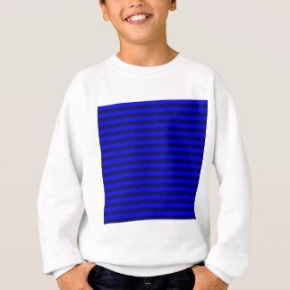 Thin Stripes - Blue and Dark Blue Sweatshirt