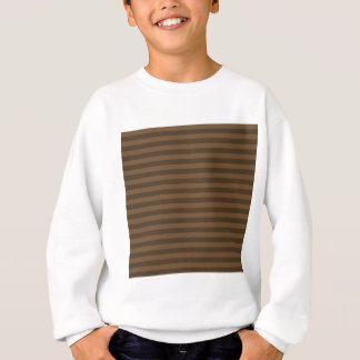 Thin Stripes - Brown and Dark Brown Sweatshirt