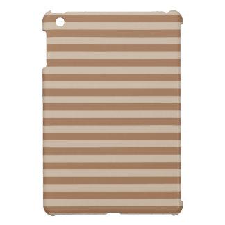 Thin Stripes - Brown and Light Brown iPad Mini Case