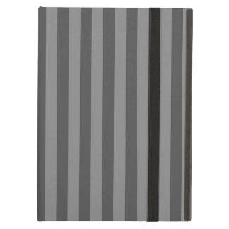 Thin Stripes - Gray and Dark Gray iPad Air Cover