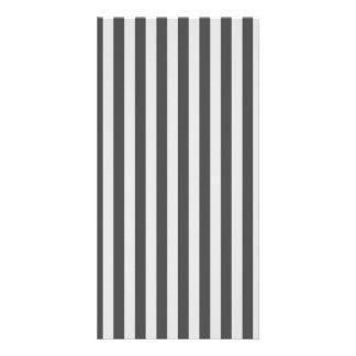 Thin Stripes - Light Gray and Dark Gray Card