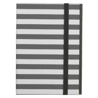 Thin Stripes - Light Gray and Dark Gray iPad Air Case