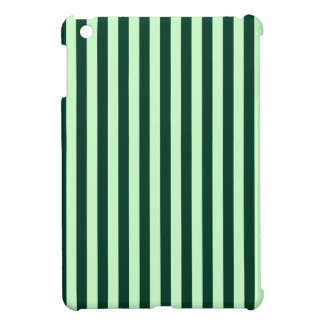 Thin Stripes - Light Green and Dark Green Cover For The iPad Mini