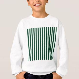 Thin Stripes - Light Green and Dark Green Sweatshirt