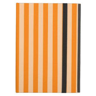 Thin Stripes - Light Orange and Dark Orange Cover For iPad Air