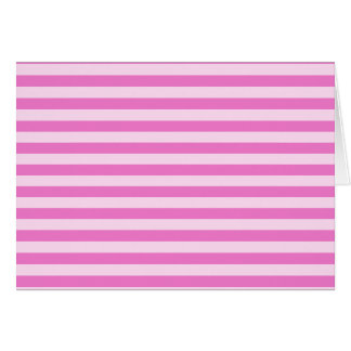 Thin Stripes - Light Pink and Dark Pink Card