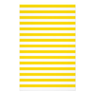 Thin Stripes - Light Yellow and Dark Yellow Stationery