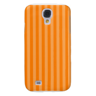 Thin Stripes - Orange and Dark Orange Galaxy S4 Case