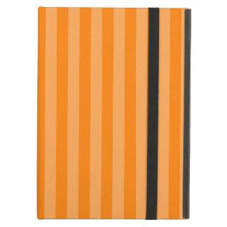 Thin Stripes - Orange and Dark Orange iPad Air Cover