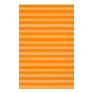 Thin Stripes - Orange and Dark Orange Stationery