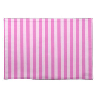 Thin Stripes - Pink and Dark Pink Placemat