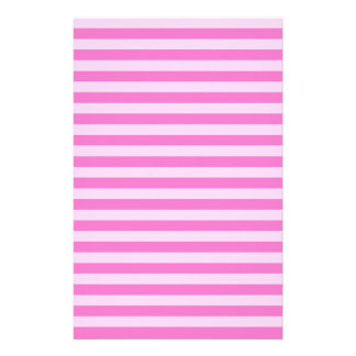 Thin Stripes - Pink and Dark Pink Stationery