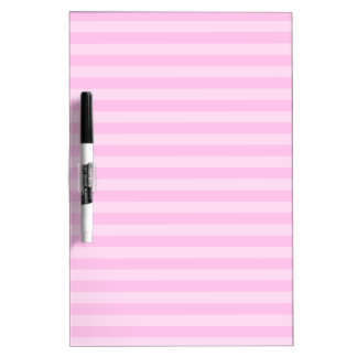 Thin Stripes - Pink and Light Pink Dry Erase Board