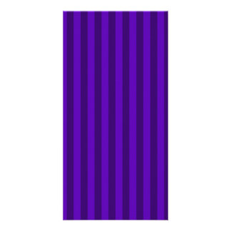 Thin Stripes - Violet and Dark Violet Card