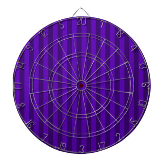 Thin Stripes - Violet and Dark Violet Dartboard