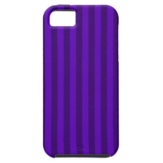 Thin Stripes - Violet and Dark Violet iPhone 5 Covers