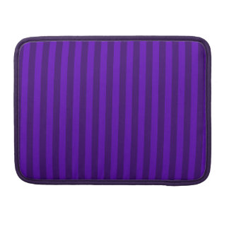 Thin Stripes - Violet and Dark Violet Sleeve For MacBooks