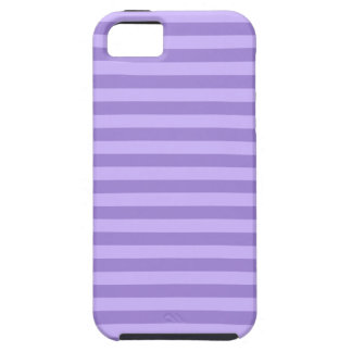 Thin Stripes - Violet and Light Violet Case For The iPhone 5