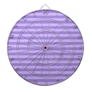 Thin Stripes - Violet and Light Violet Dartboard