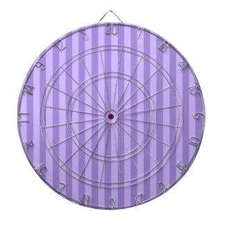 Thin Stripes - Violet and Light Violet Dartboard