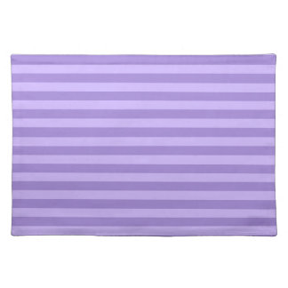 Thin Stripes - Violet and Light Violet Placemat