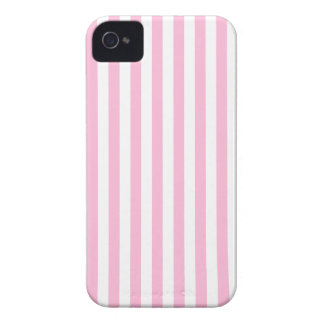 Thin Stripes - White and Cotton Candy Case-Mate iPhone 4 Cases