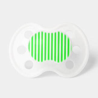 Thin Stripes - White and Electric Green Dummy