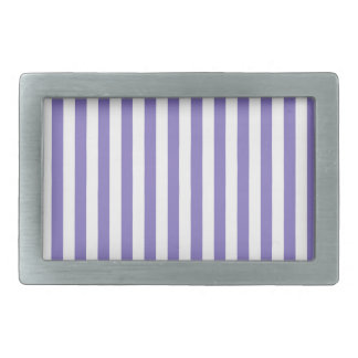 Thin Stripes - White and Ube Belt Buckle