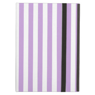 Thin Stripes - White and Wisteria Case For iPad Air