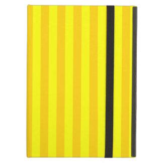 Thin Stripes - Yellow and Dark Yellow iPad Air Case