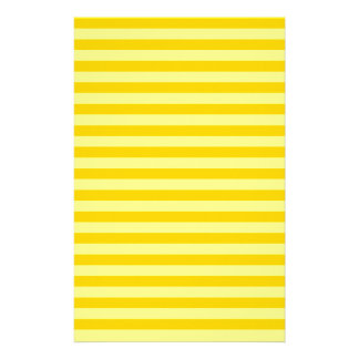 Thin Stripes - Yellow and Dark Yellow Stationery