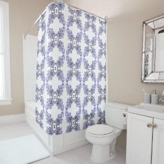 Thing-a-ma-jig Print - indigos Shower Curtain