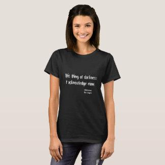 Thing of Darkness Joke Funny Shakespeare T-Shirt