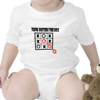Thing outside the box baby bodysuit