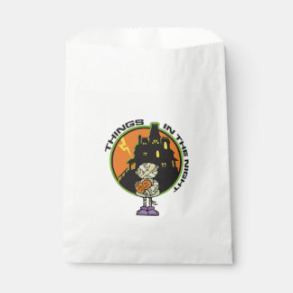 Things In The Night Halloween Favor Bags