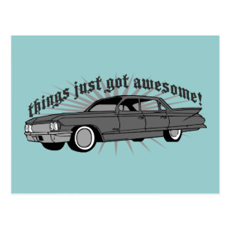 Things just got Awesome! Postcard