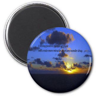 Things of a Spiritual nature 6 Cm Round Magnet