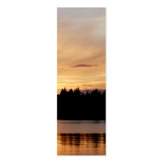 Thingvallavatn, Iceland, bookmark Pack Of Skinny Business Cards