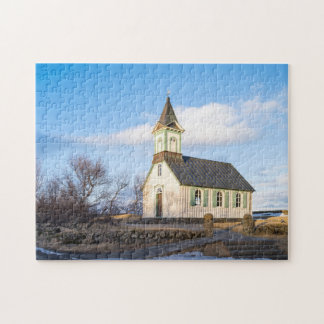 Thingvellir National Park in Iceland Jigsaw Puzzle