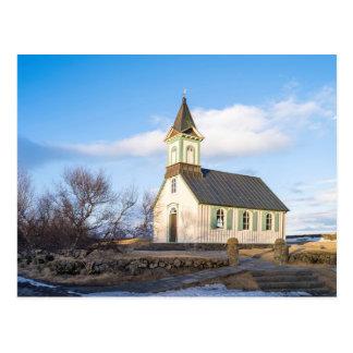 Thingvellir National Park in Iceland Postcard