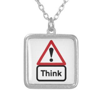 Think (1), Traffic Sign, UK Jewelry