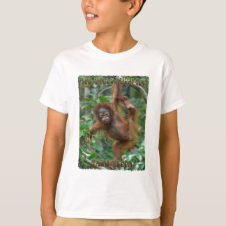 Think About the Little Guys Orangutan t-shirt