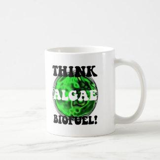 Think algae biofuel! basic white mug