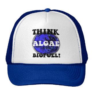 Think algae biofuel cap