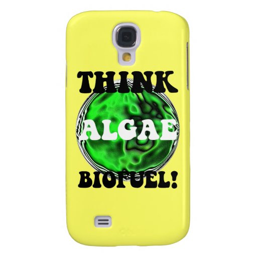 think algae biofuel galaxy s4 covers