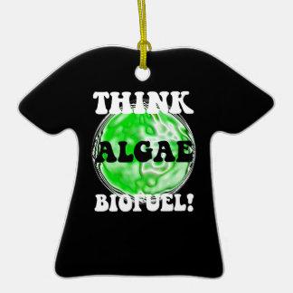 think algae biofuel ornaments